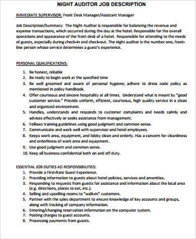 A description of auditing Essay Writing Service dvtermpaperjyyh - Auditor Job Description