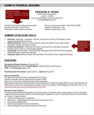 example federal resume 57 Example federal resume - getjobcsat - federal resume example