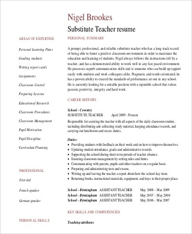 Sample Professional Summary For Resume splendid design - professional summary for cv