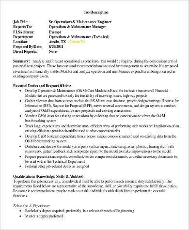 Network Engineer Job Description  NodeCvresumePaasproviderCom