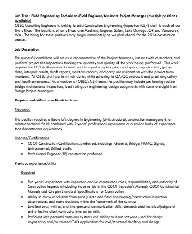 field application engineering manager resume senior field