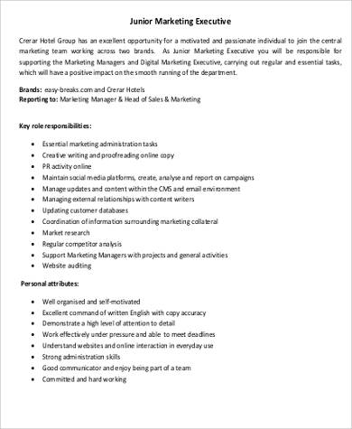 Sales Intern Job Description oakandale