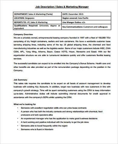 Marketing-Manager-Job-Description-1-728jpg?cbu003d1273624549Marketing - trade marketing job description