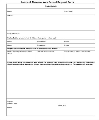 Application For Leave Best Ideas Of Sample Leave Request Form - sample leave request form