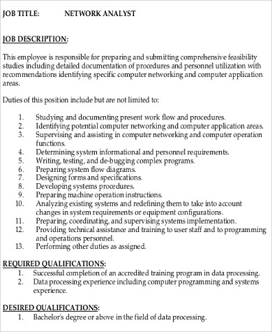Senior Programmer Job Description - Resume Template Sample - senior programmer job description
