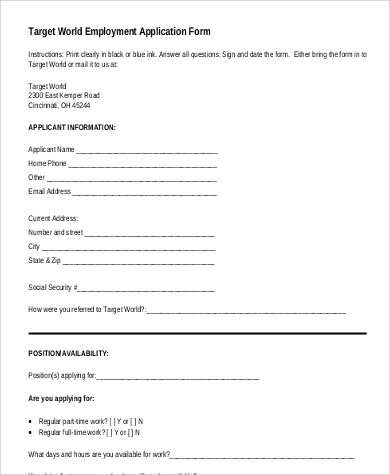 Top Result 70 Lovely Target Job Application form Print Out Pic 2018