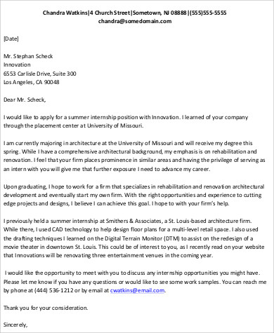 Email Cover Letter Format Sample - 6+ Examples in Word, PDF