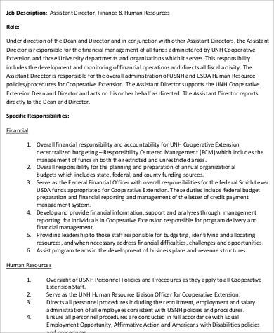 Human Resources Director Job Description Find This Pin And More - hr director job description