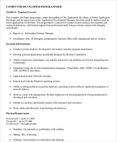 system programmer job description efficiencyexperts - system programmer job description