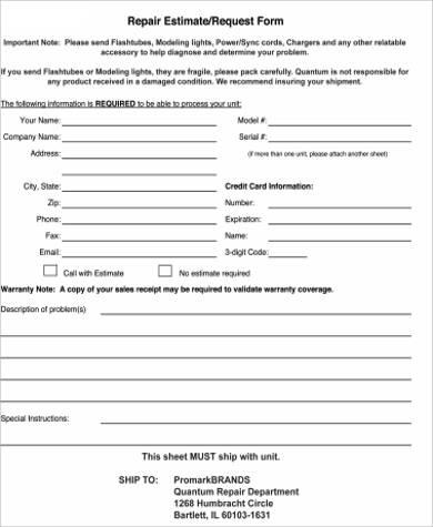 Repair Request Form Barneybonesus Lovable The Impossible Letter - shoe repair sample resume