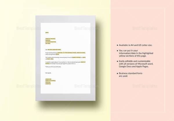 Sample Invitation Letter - 9+ Examples in PDF, Word
