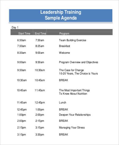 Training Agenda Template Workshop Agenda Template Workshop Agenda