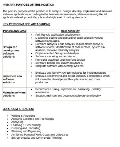 9+ Sample Engineer Job Description - Free Sample, Example, Format