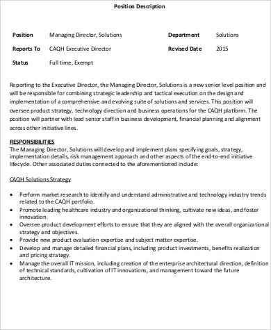 Risk Management Job Description Risk Management Officer Job - job description template word