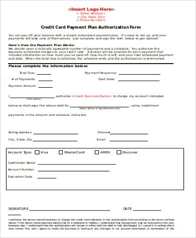 9+ Payment Agreement Form Samples Sample Templates