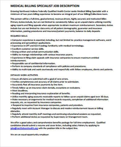 medical job description sample 9 examples in word pdf medical records job - Endocrinologist Job Description
