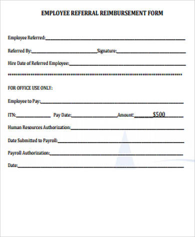 employee referral form template word gallery template design ideas - office referral form