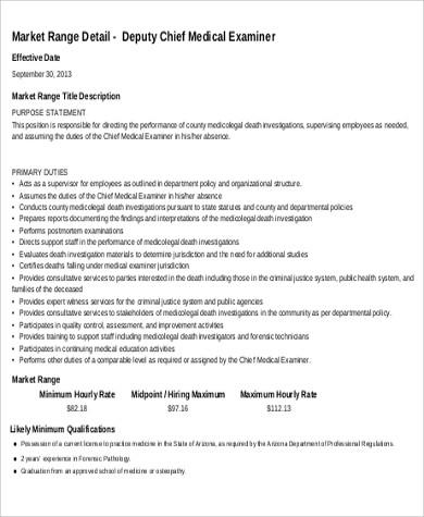 Medical Examiner Job Description Lukex efficiencyexperts - medical examiner job description