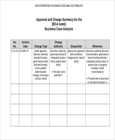 6+ Case Analysis Samples Sample Templates