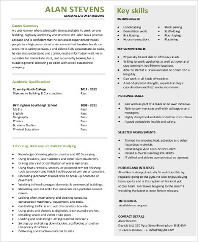 objective for resume general