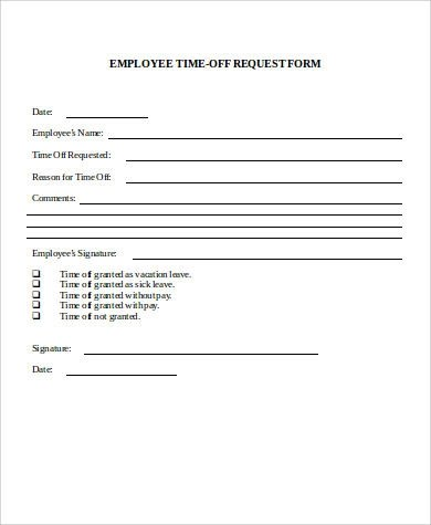 Employment Request Form Employee Uniform Form Proof Of Employment