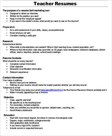 8+ Job Objective Samples Sample Templates