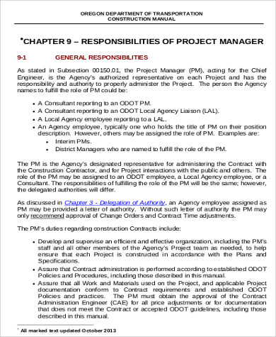 Construction Job Description Construction Manager Job Description