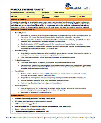 system analyst job descriptions cvresumecloudunispaceio
