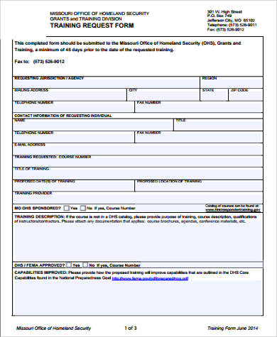 12+ Sample Request Forms Sample Templates