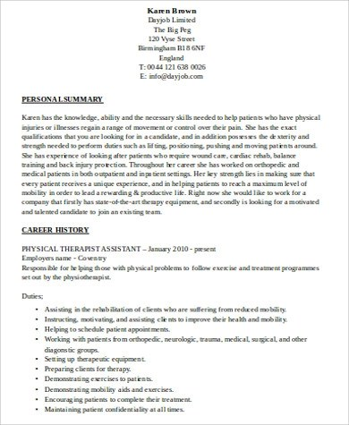 Kevin Keinert\u0027s Integrated Circuit Parts for Sale physical therapist - radiation therapist resume