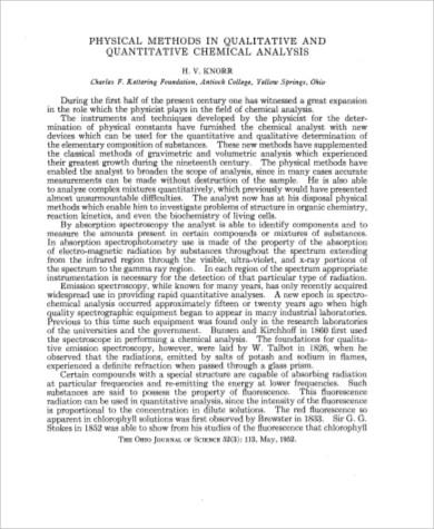 6+ Quantitative Chemical Analysis Samples Sample Templates