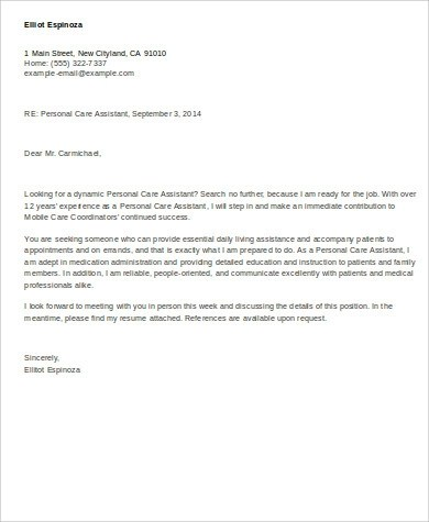 Emejing Personal Injury Assistant Cover Letter Ideas - Triamterene ...