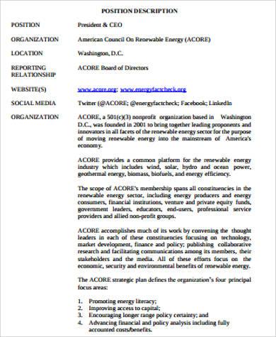 ceo description - Amitdhull - ceo job description