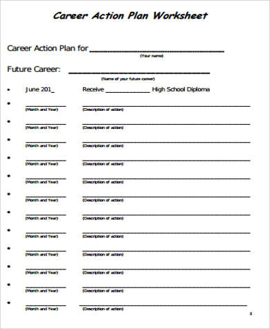 30+ Sample Action Plan Work Sheets Sample Templates - action plan work sheet