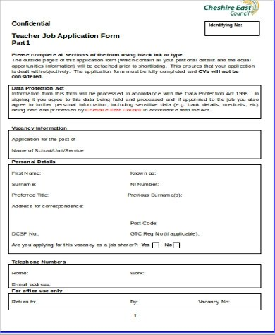 Application Form In Doc Job Request Form Template Doc 700967 - application form in doc