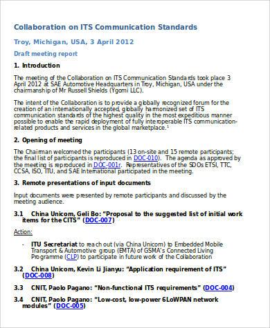 28+ Agenda Samples in Word Sample Templates - collaboration meeting agenda