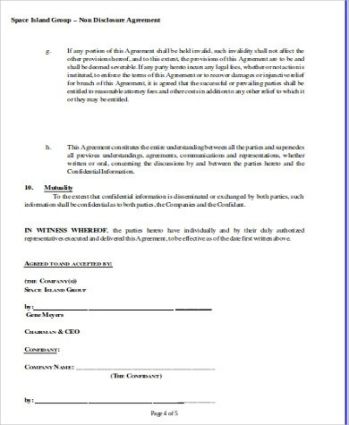 Sample Business Non-Compete Agreement - 7+ Examples in Word, PDF