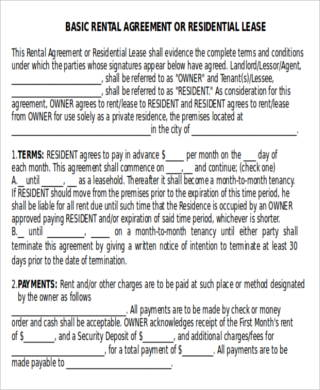 House Rent Contract - 7+ Examples in Word, PDF - house rent contracts