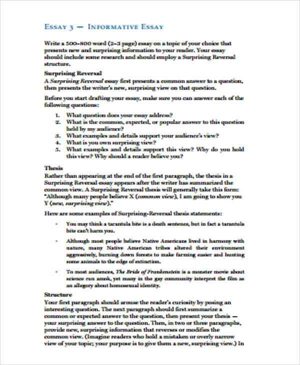 surprising reversal thesis Surprising-reversal (antithesis) research essay 5 pages 25% of final grade due fri, may 9 by 5:30 pm to turnincom assignment overview: you will write a thesis-driven essay that offers a more positive, authentic view of your subculture — in direct response to the misconception(s) identified and introduced in your unit one rhetorical analysis — utilizing sources from your unit two.
