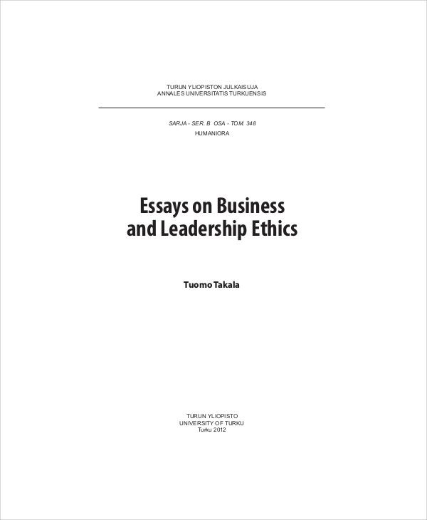 examples of application essays