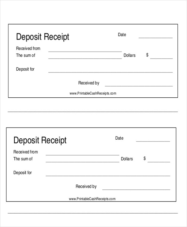 7+ Payment Receipt Forms Sample Templates - payment received receipt template