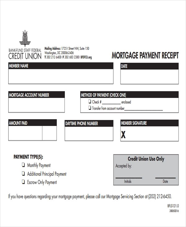 mortgage payment receipt template hgvi