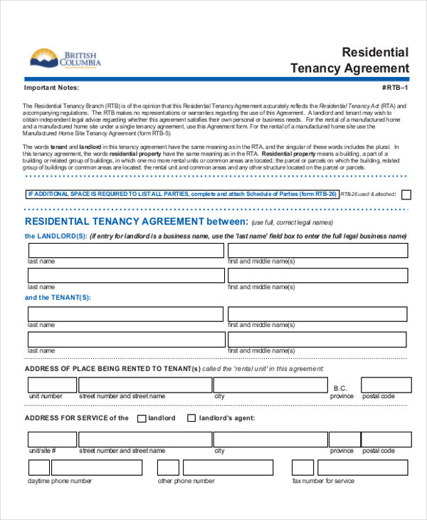 5+ Rent-to-Own House Contract Samples Sample Templates