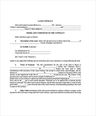30+ Sample Contract Agreements | Sample Templates