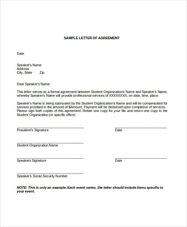 Sample Contract Agreement - 30+ Examples in Word, PDF - contract agreement format
