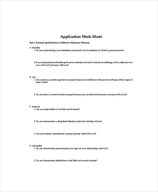 Pastor Interview Evaluation Form | Recommendation Letter For