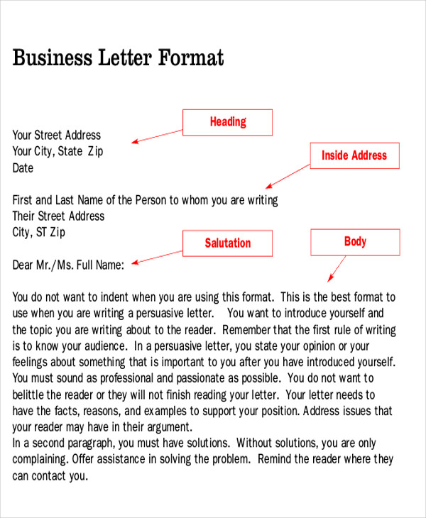 persuasive business letter - 28 images - how to write persuasive