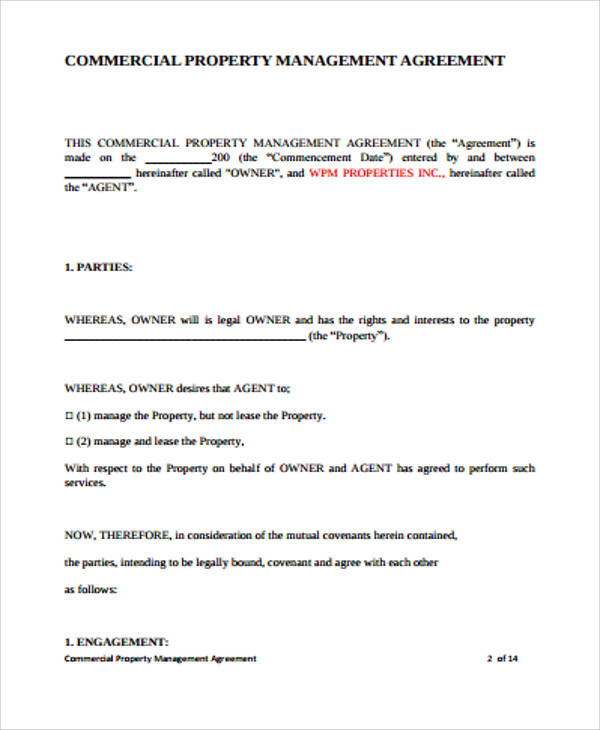 property management agreements node2004-resume-template - management agreements