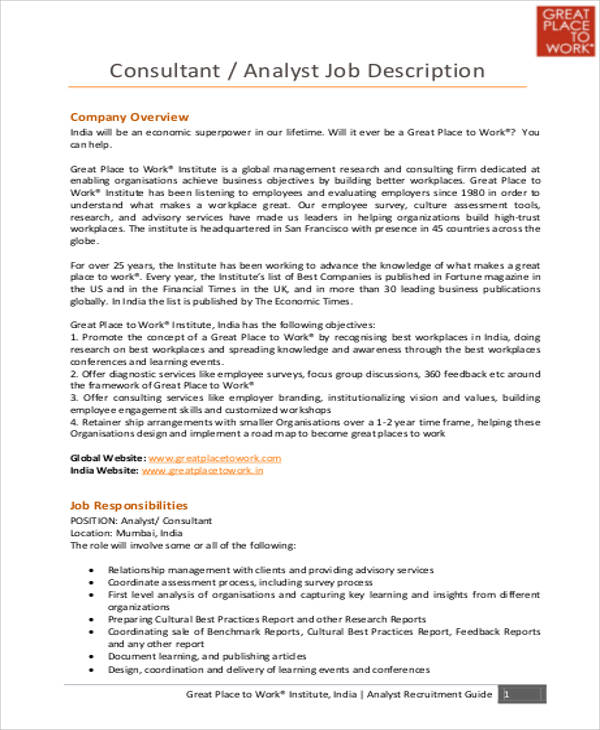 market research analysts job description market research analyst