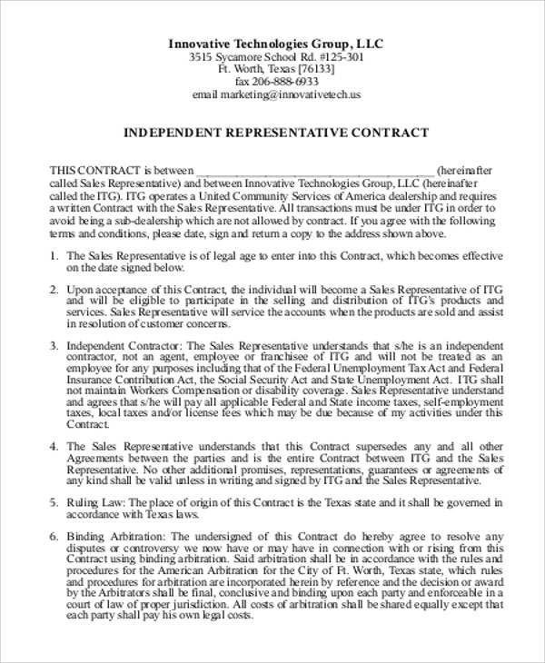 Consulting Agreement In Pdf 5 consulting contract templates – Independent Consulting Agreement